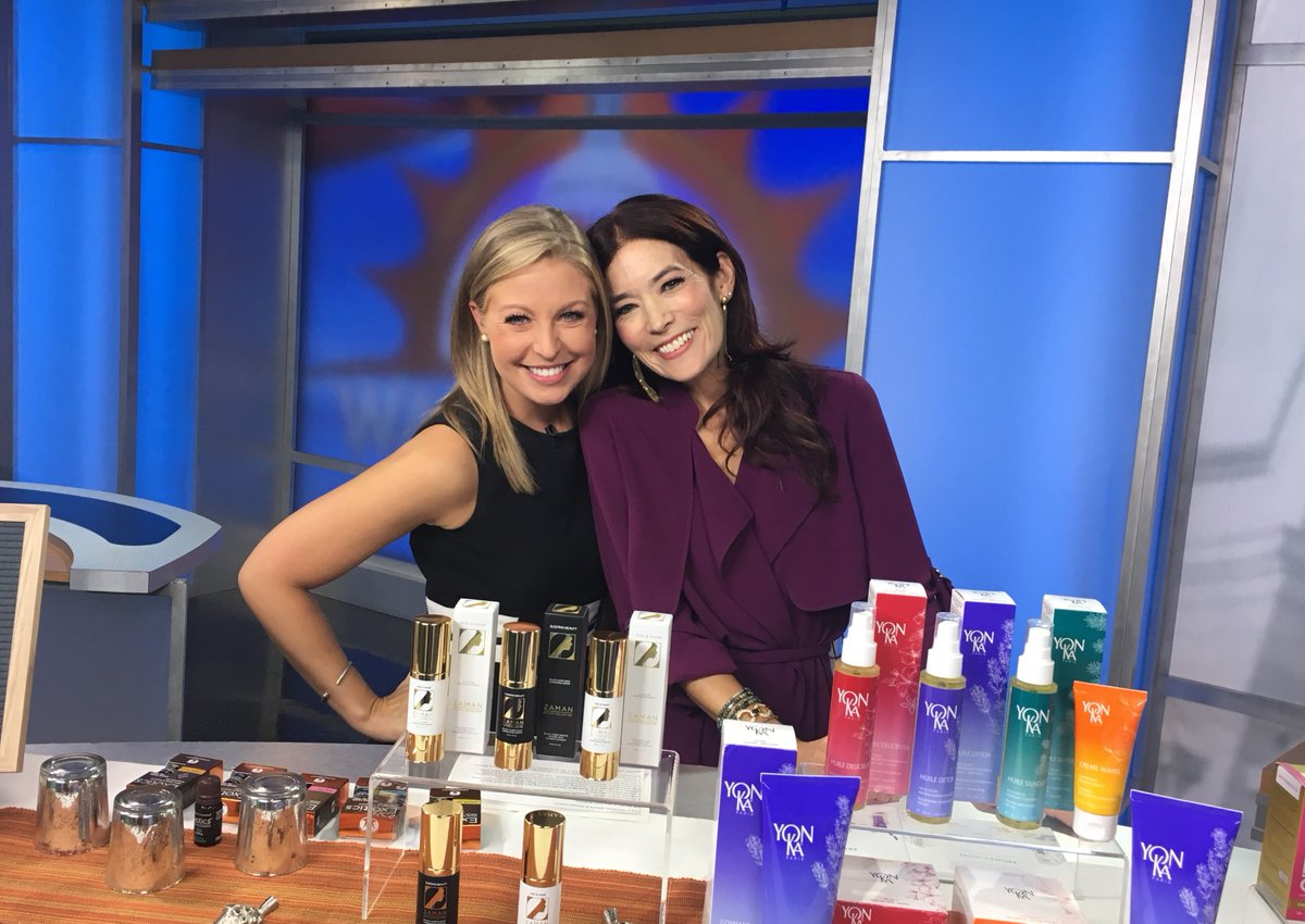 We're beaming sunrays at Good Morning Washington! With cohost Eileen Whelan.