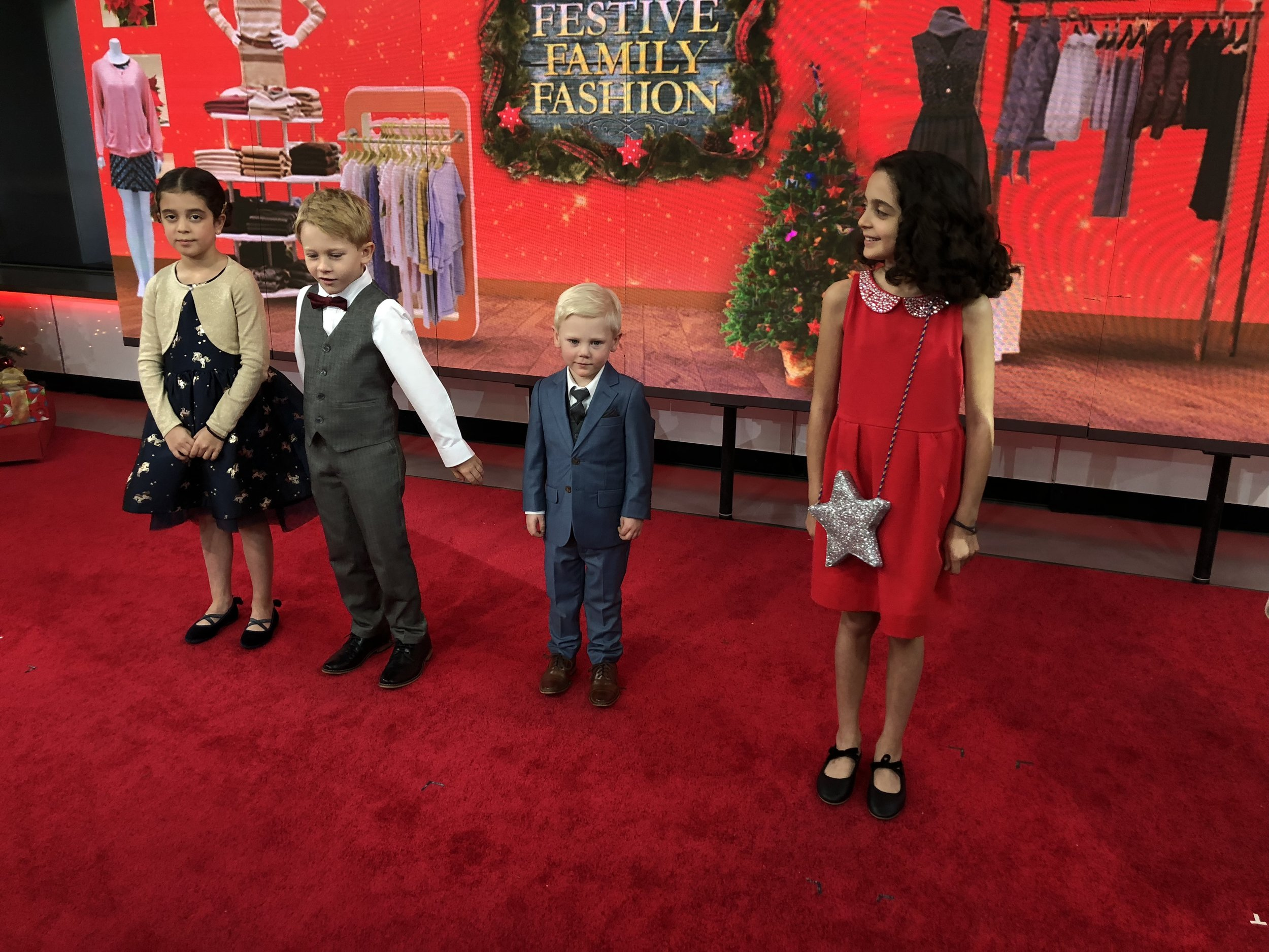 Holiday Family Fashion by Fashion Expert Amy E. Goodman boy's suits