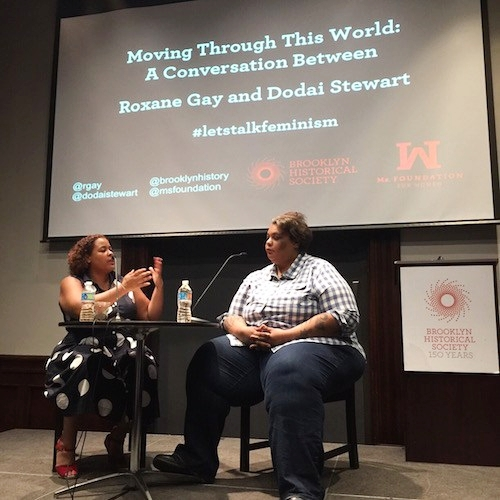 A conversation with award-winning author Roxane Gay