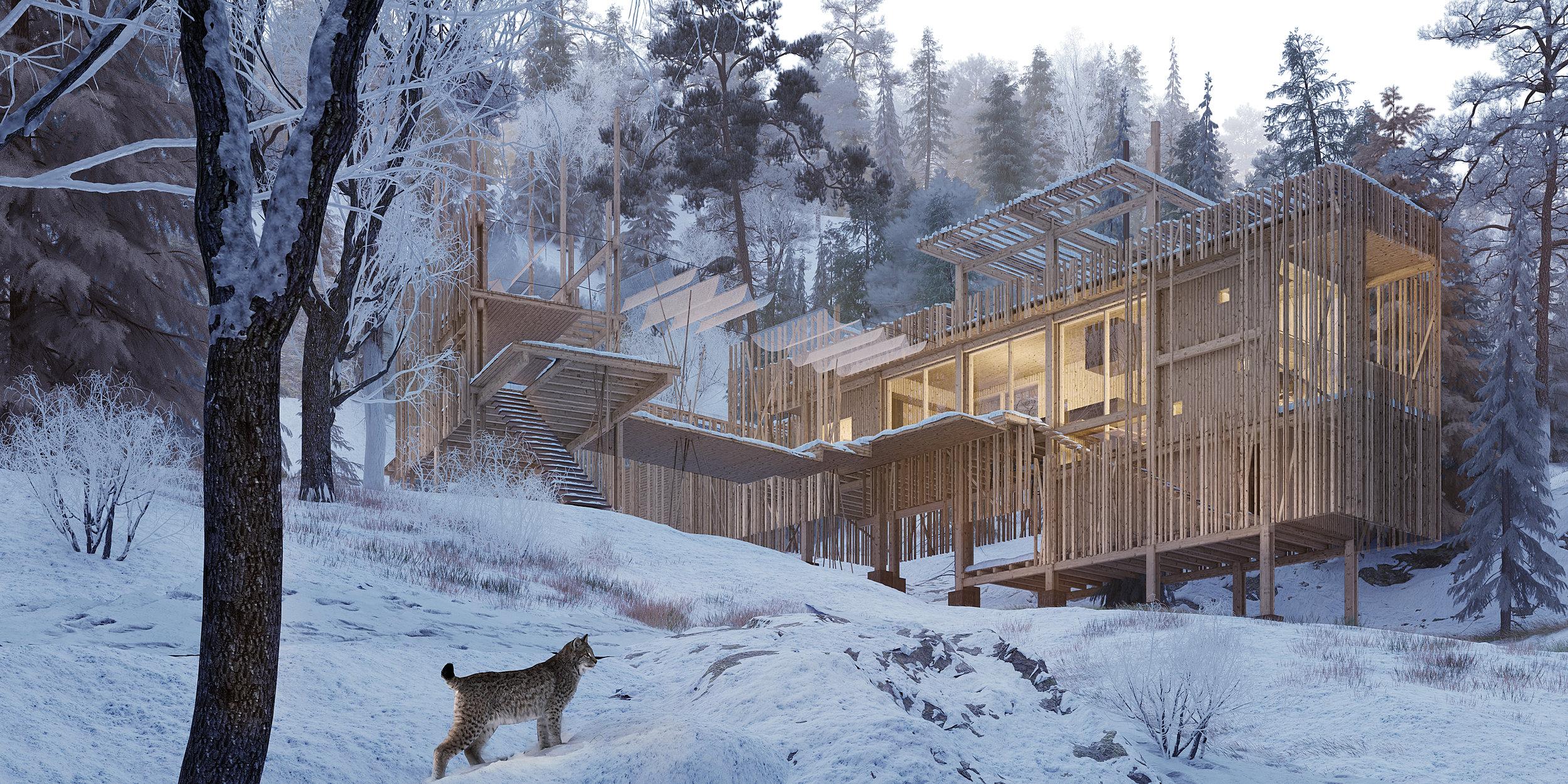 erik juul har modtaget et arbejdslegat fra Statens Kunstfond til udvikling af bl.a. ny bæredygtig træarkitektur.