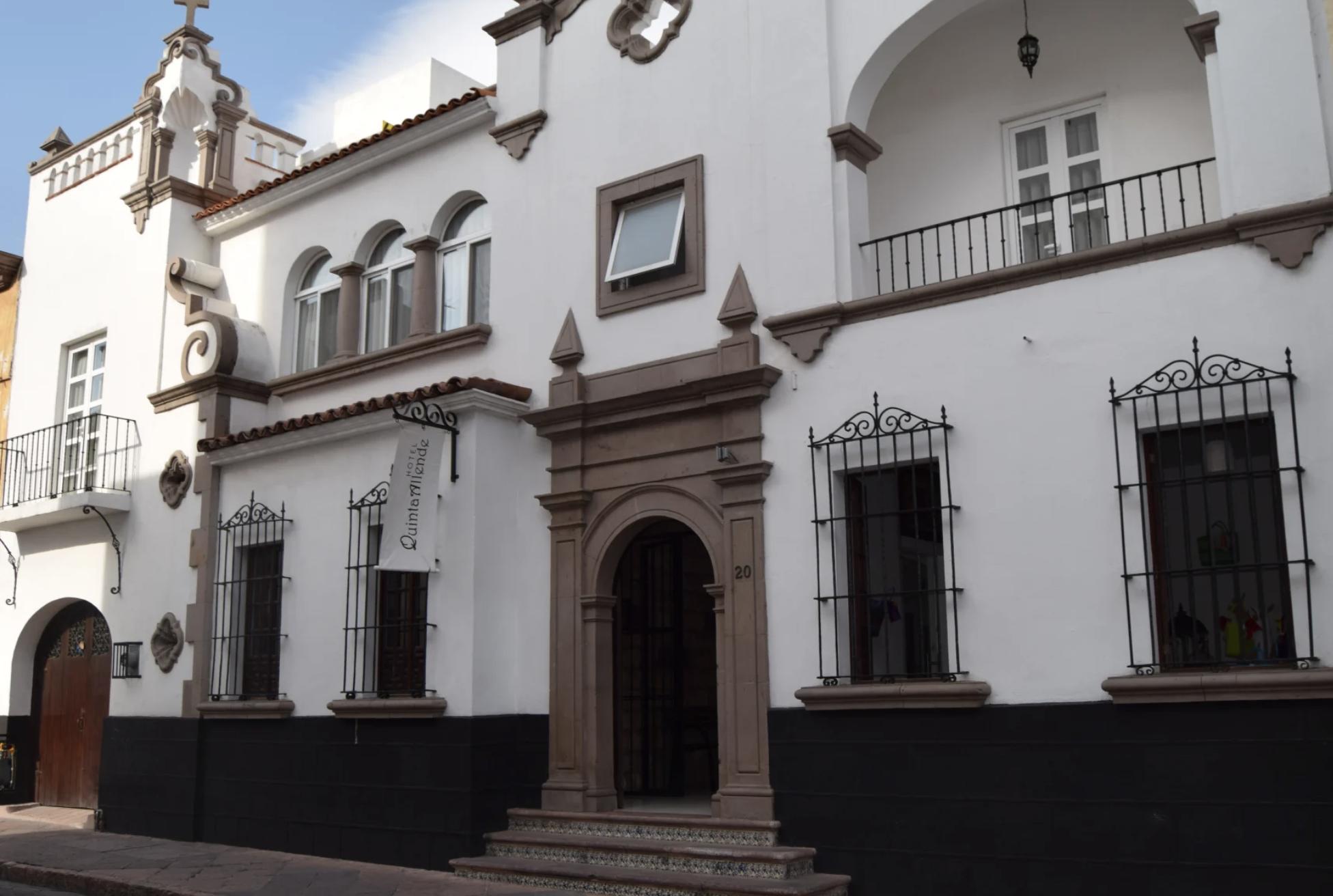 hotel Quinta Allende Querétaro - Day 16. March 3 visit one of the five Franciscan Mission of the Sierra Gorda. Then Misión de Santiago de Jalpan and Misión de Nuestra Señora de la Luz Tancoyol. O/N Querétaro.