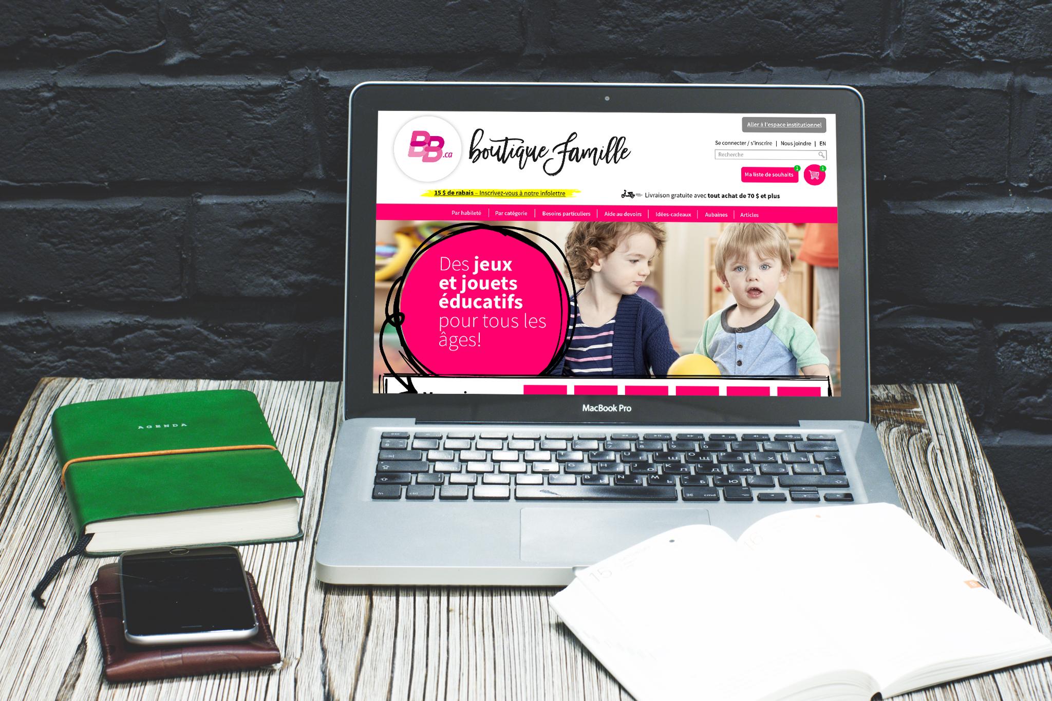 BRAULT & BOUTHILLIER  /// Website Design