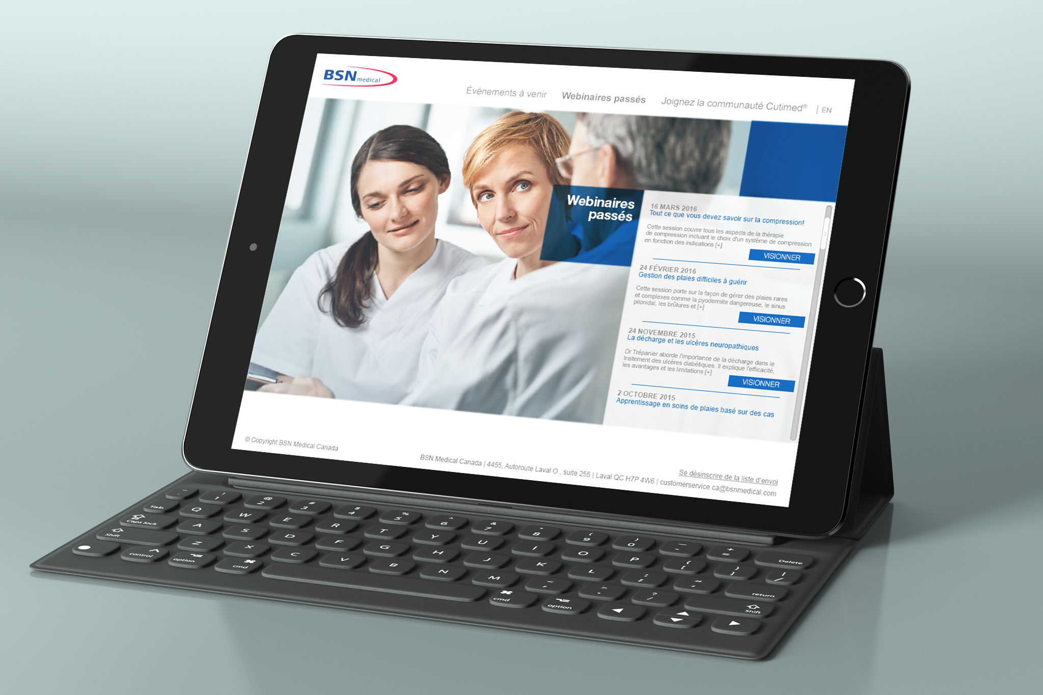 BSN MEDICAL   ///  Training Website