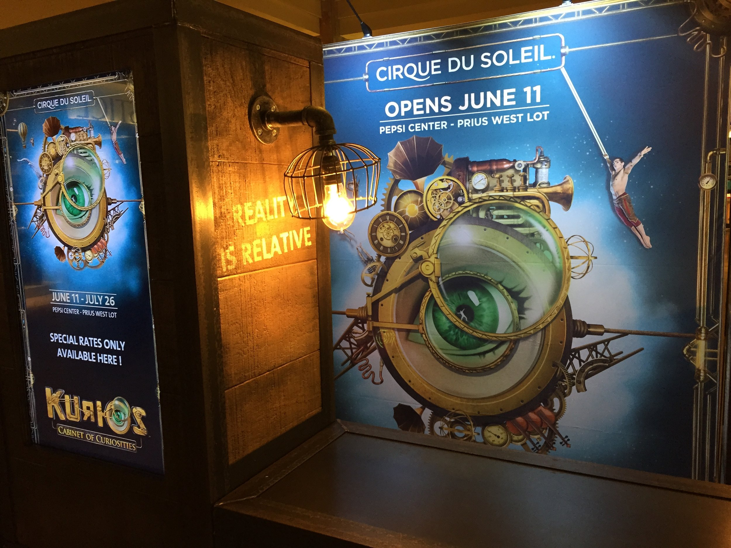 KURIOS (CIRQUE DU SOLEIL)    ///   MONTREAL, CHICAGO, SAN FRANCISCO, SEATTLE, HOUSTON, LOS ANGELES, MIAMI, VANCOUVER, WINNIPEG, EDMONTON