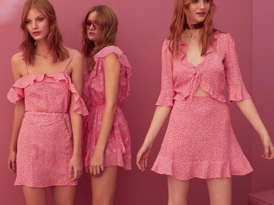 For Love & Lemons Pink Dresses.jpg