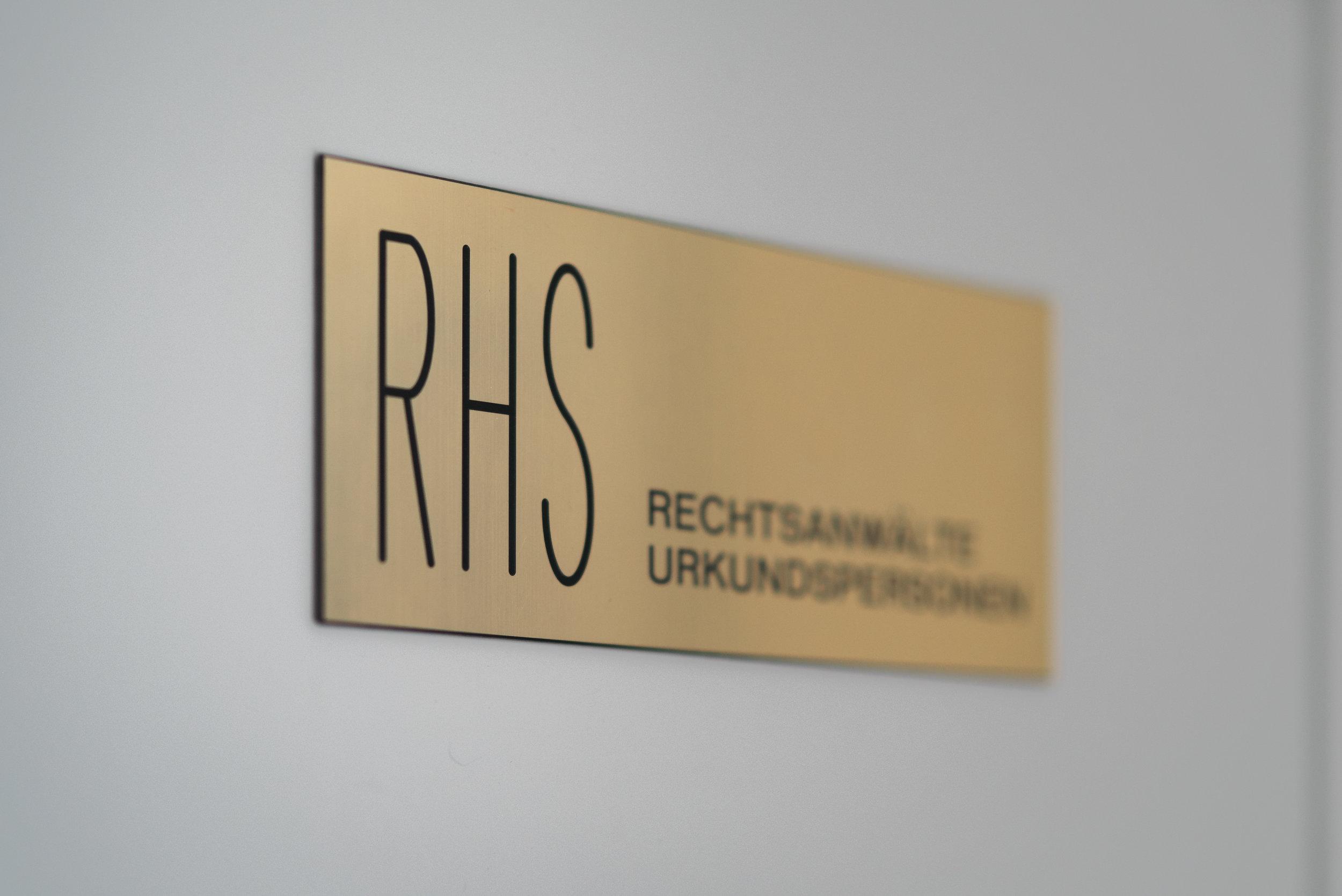 Herzlich willkommen bei RHS & Partner