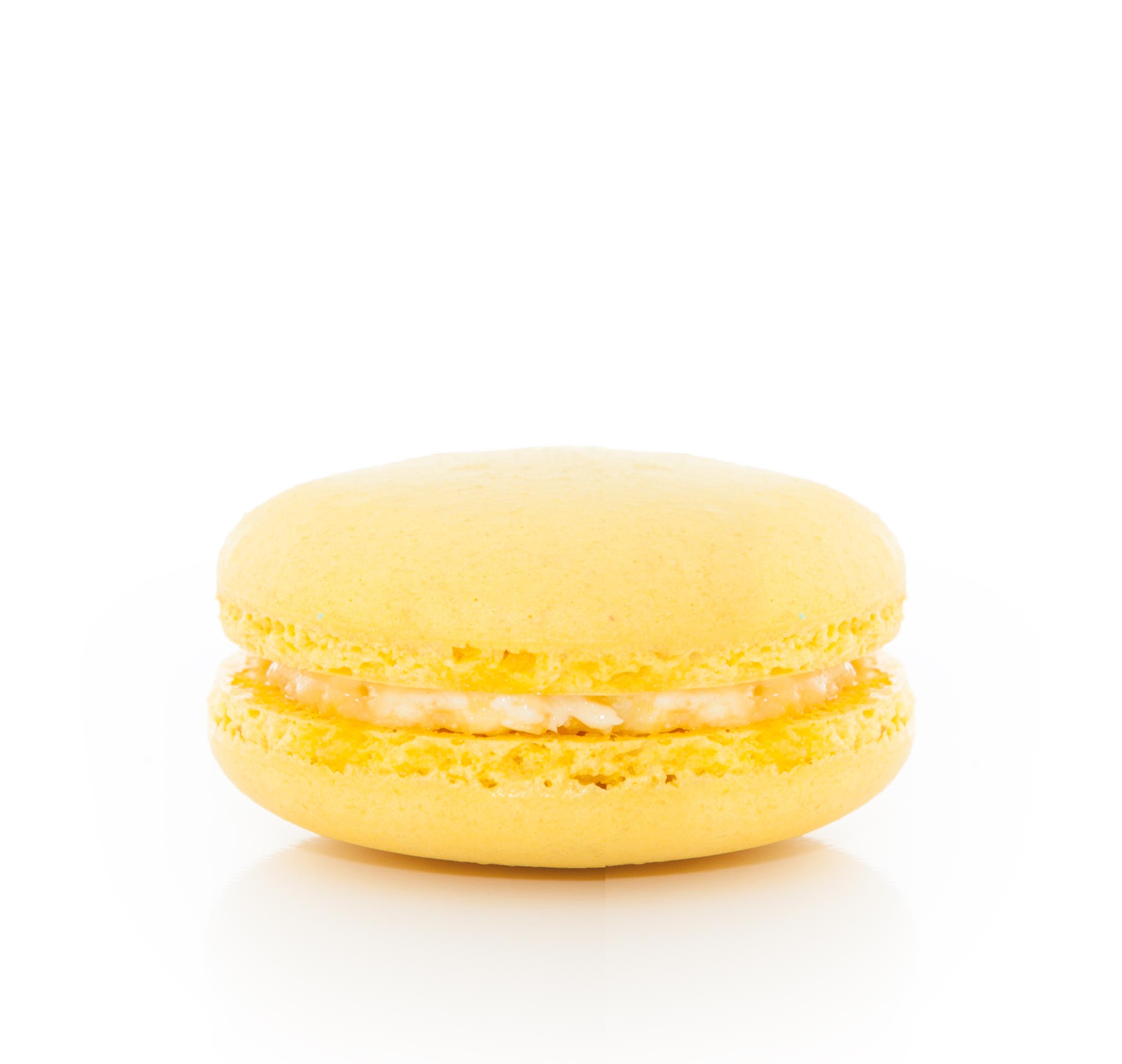 - Lemon Fleur de SelButtercream filling made with fresh lemons, zest and fleur de sel