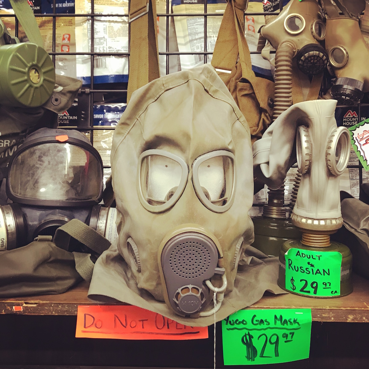 Boise army Navy - On the hunt for MREs, Joel and LD find the wool pant, mining gear, and lucha libre mask warehouse they didn't know they were looking for.