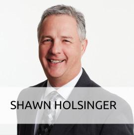 Shawn Holsinger, VP of Operations