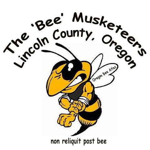 "The mighty Lincoln County team has ""rolled up its sleeves"" and come up with a logo and a motto in Latin ""no bee left behind"". Awesome!"