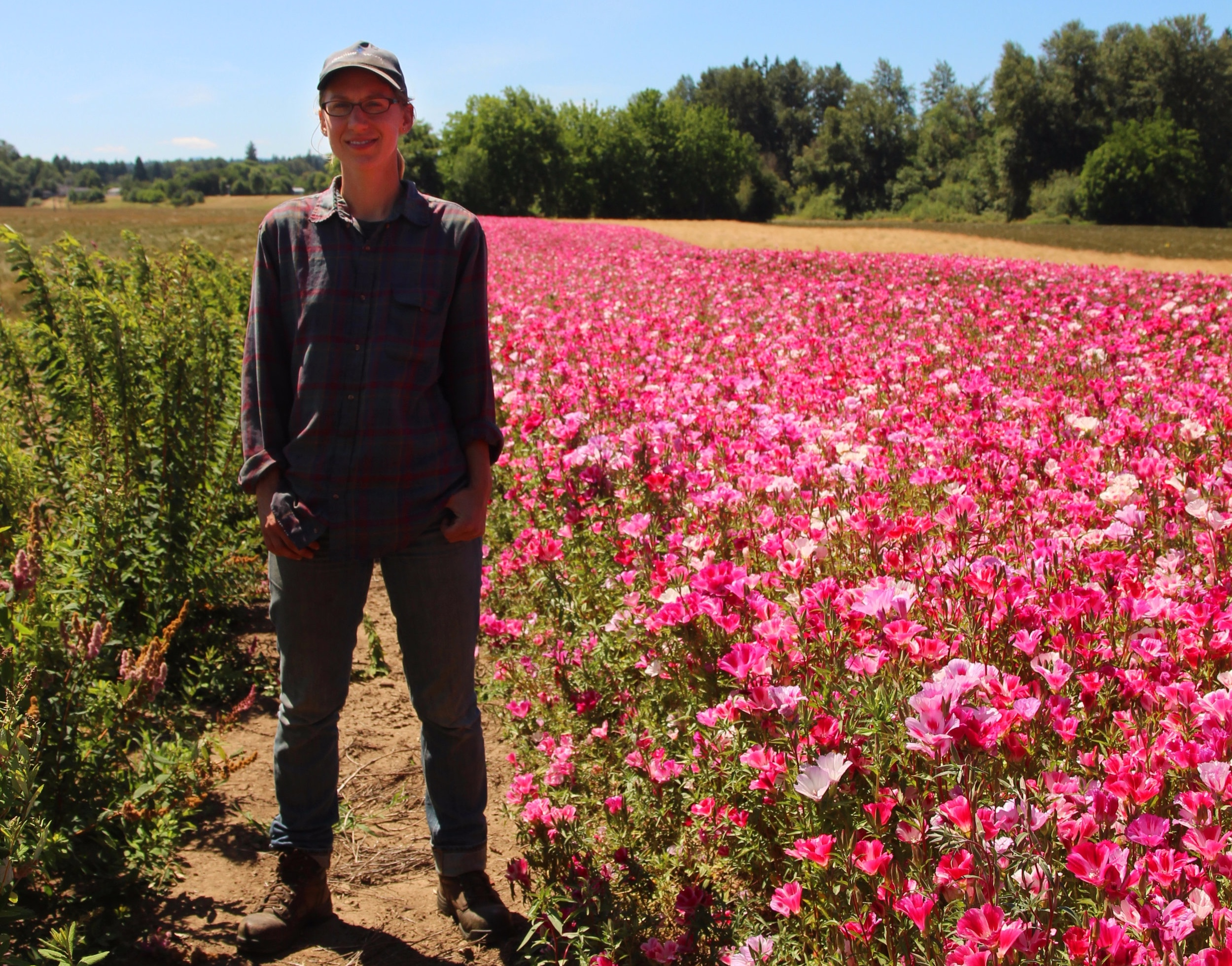 """""""We tried to fill in and manage the areas that we can't and don't farm for various reasons into some type of vegetation that is beneficial to wildlife – that includes pollinators."""" – Peter Kenagy"""