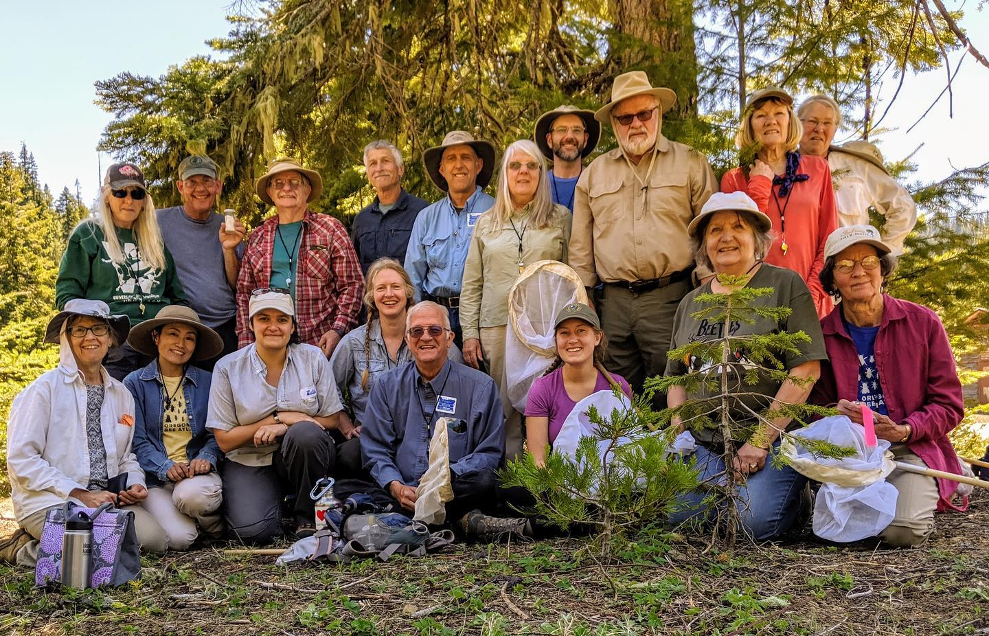 Participants at last week's Advance Field Collection course at the Siskiyou Field Institute. Participants had some amazing bloom. Thanks to Linc for leading this course and Jen for juggling the logistics.