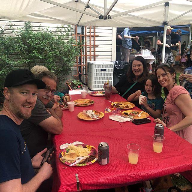 Donelson Hills Spring Block Party! Enjoying great food and great friends! #donelsonhills #nashville #wearenashville #nashvilleneighborhoods