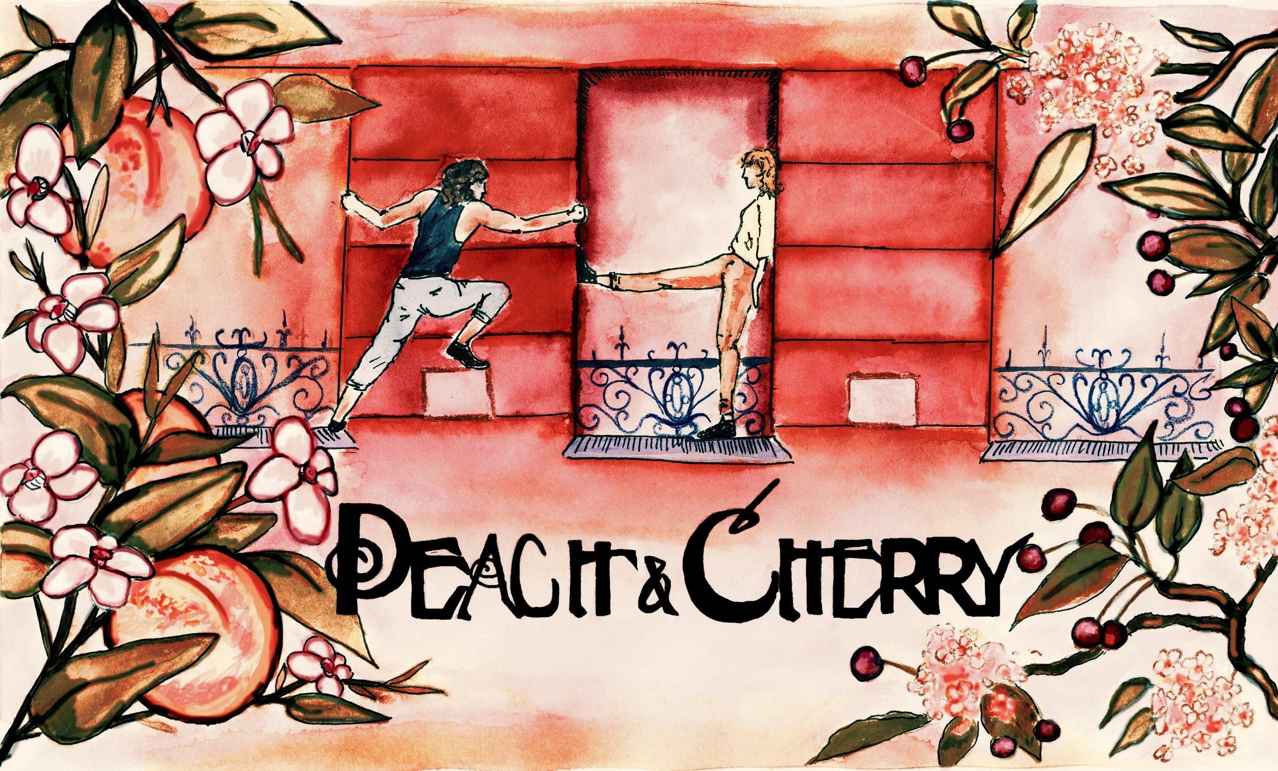 Peach & Cherry