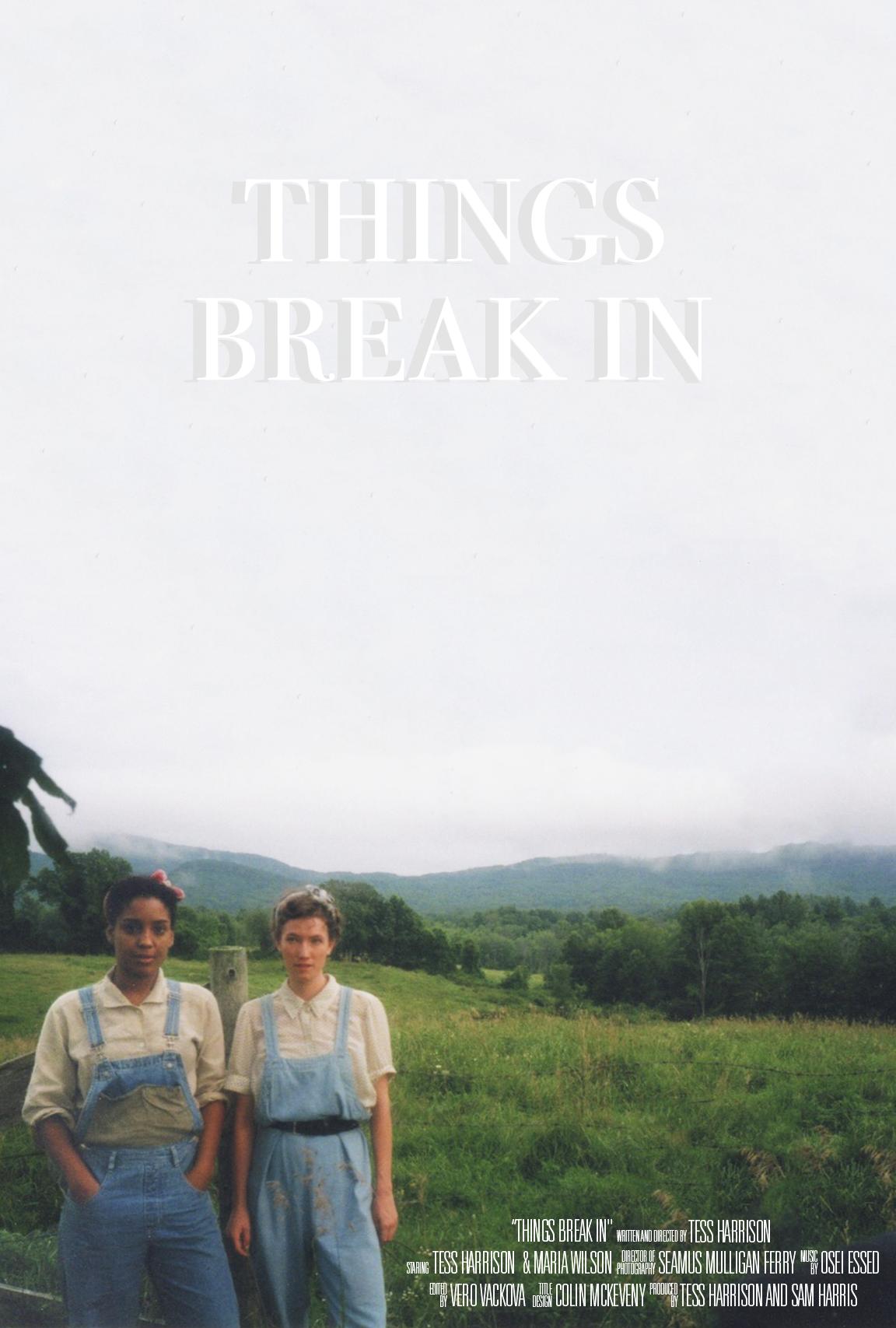 Things Break In