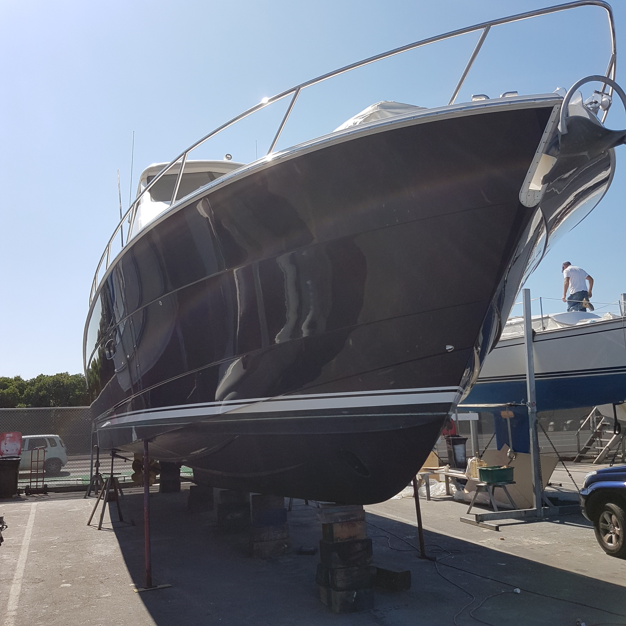Marine Nano Paint Protection on Gel-Coat - 2 – 5 Years Protection