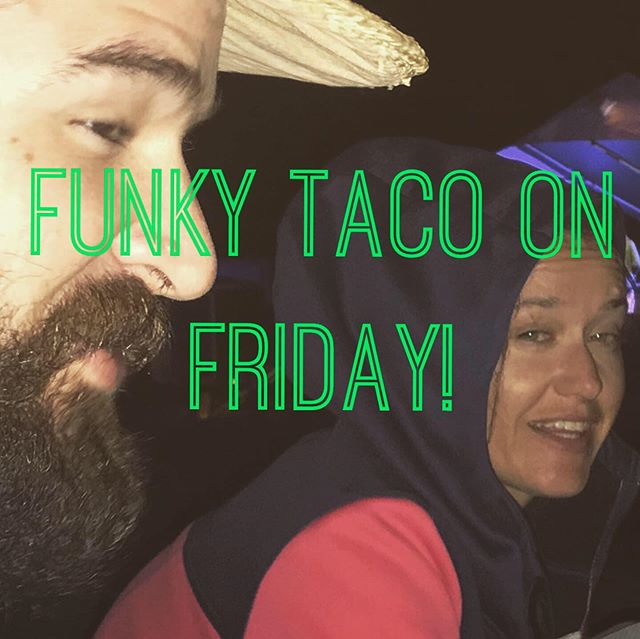 Catch us this Friday at Funky Taco! Music starts at 8 with @drunklecasey  @thefunkytaco  Going to bust out the electric set! Going to drop some new tunes! Going to restock that merch! #music #rock #folk #guitar #tacos #crocs #drums #bass #piano #beards #localmusic #art #boise #boisemusicscene #boisemusic #treasurevalley