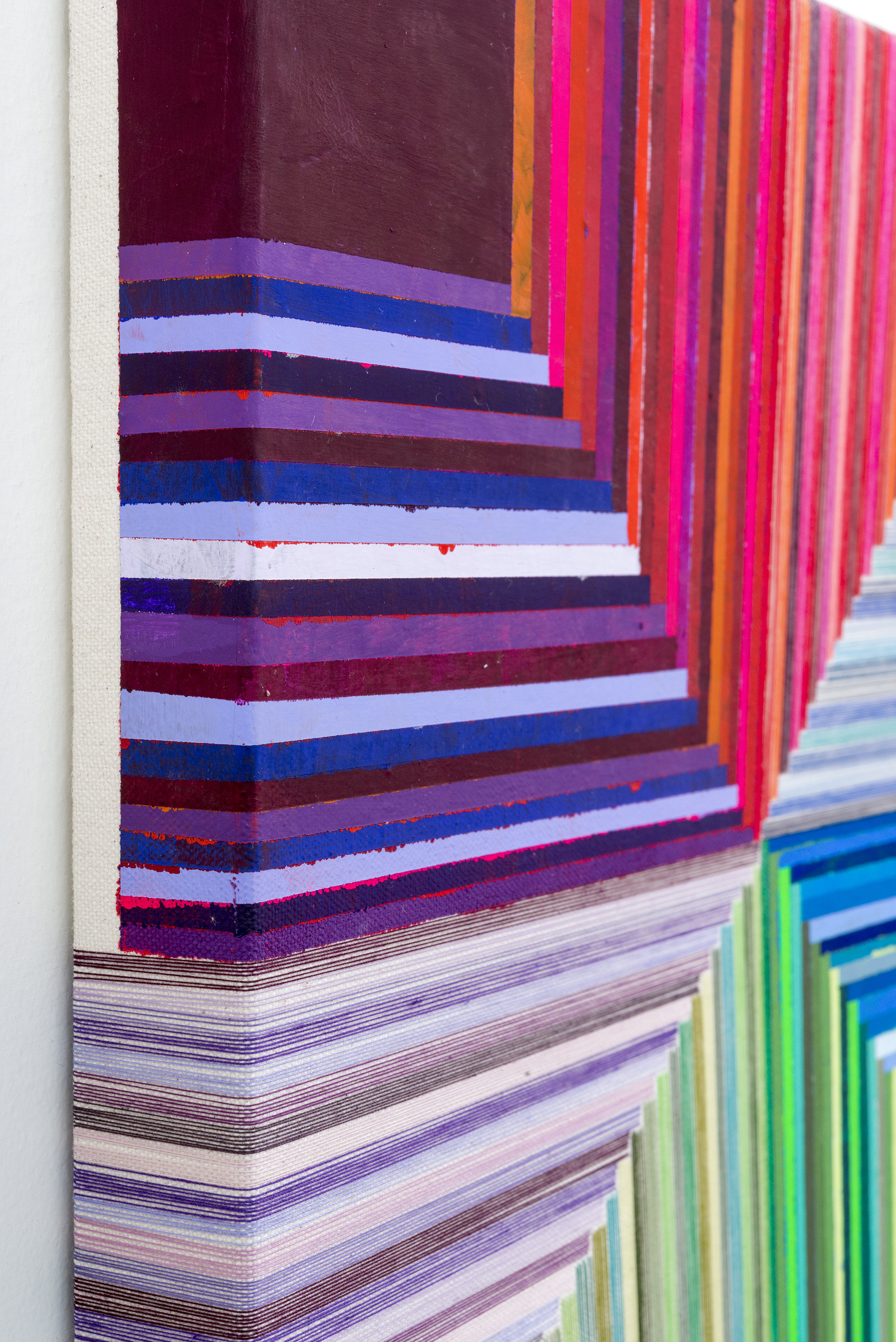 5 - side detail Being Mama, 3  2015  14x14  Flashe and thread on canvas-sm.jpg