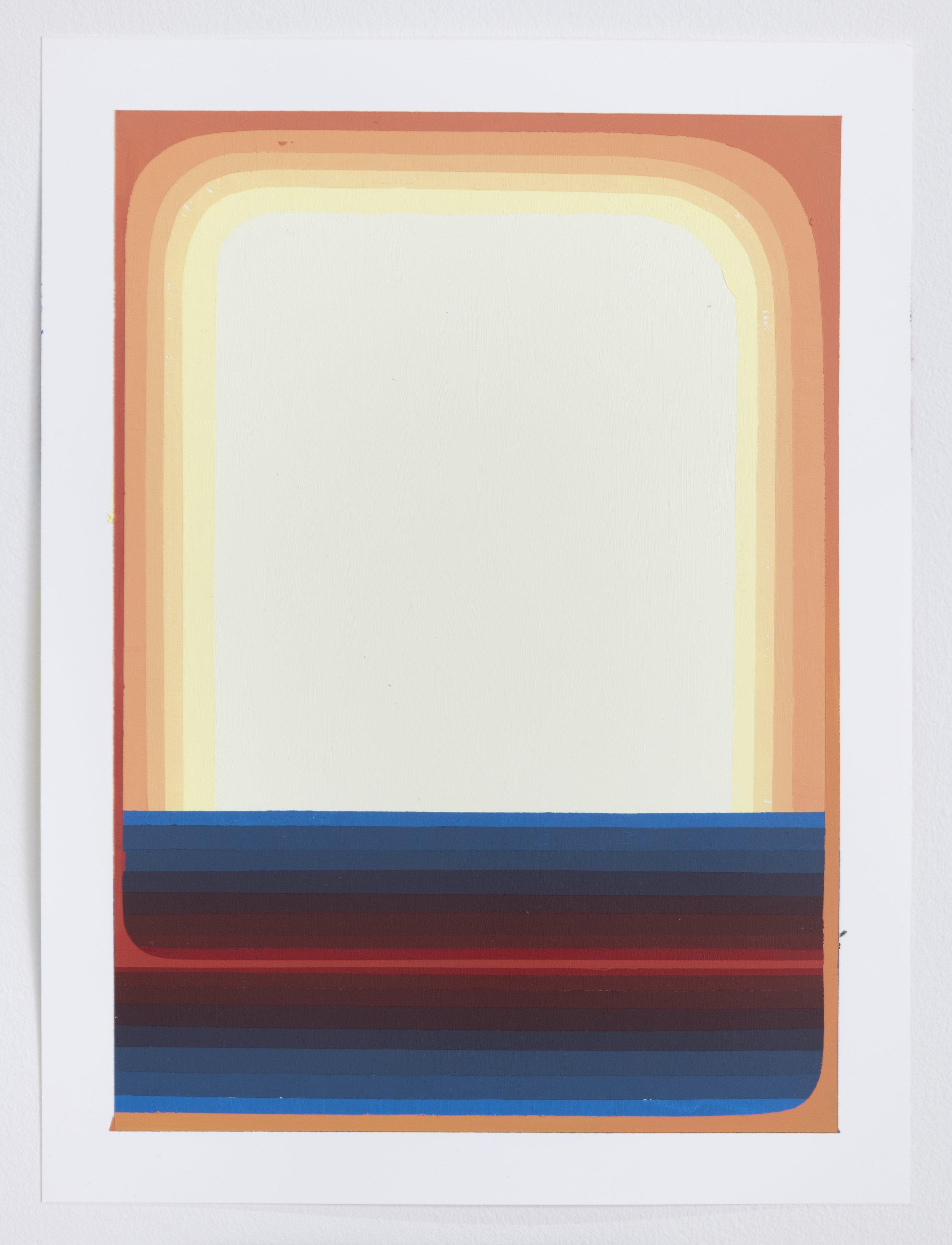 1 - By Fire, 2019, 12x9 in, acrylic on Yupo.jpg