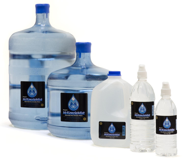 mckenzie mist bottled water