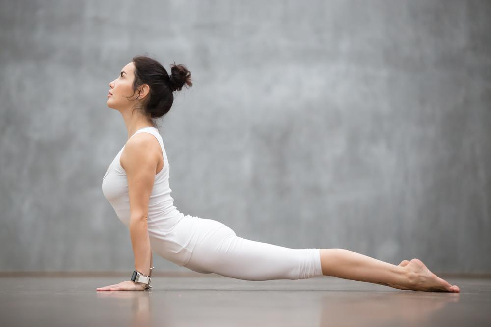 yoga heart opener