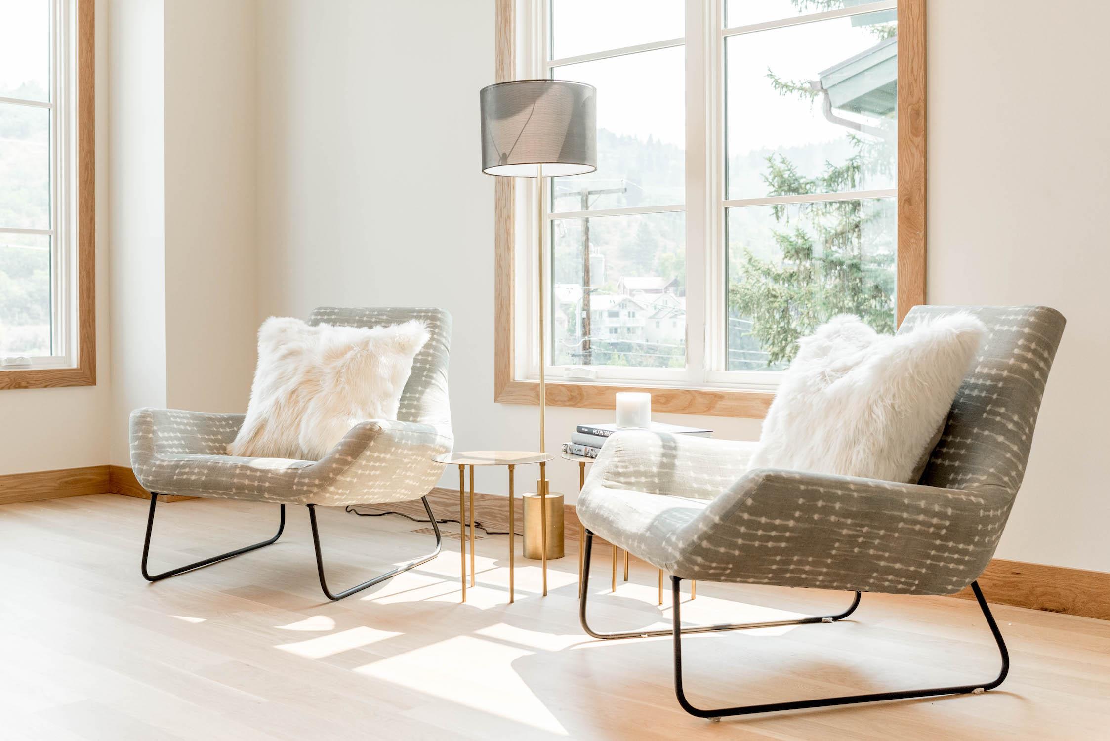 Scandinavian-Style Nordic Mountain Home