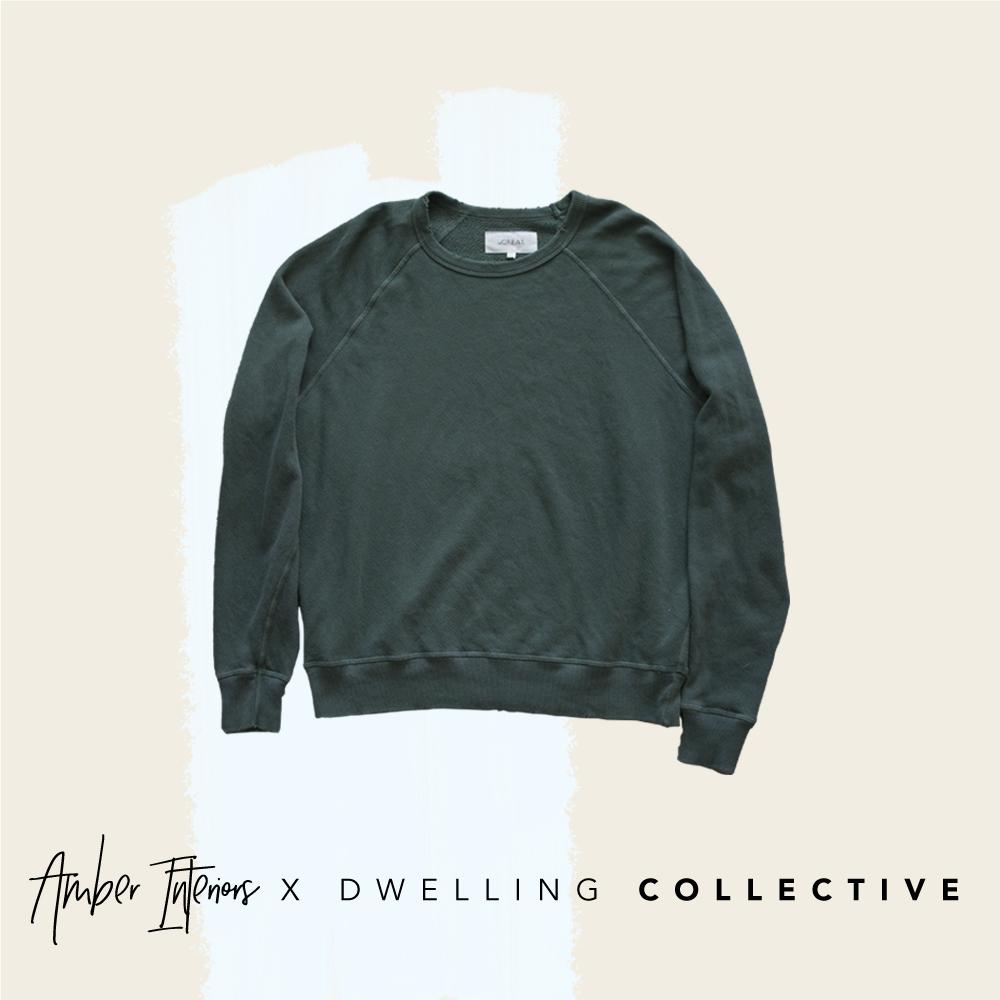 - The Great College Sweatshirt in Pine — $175