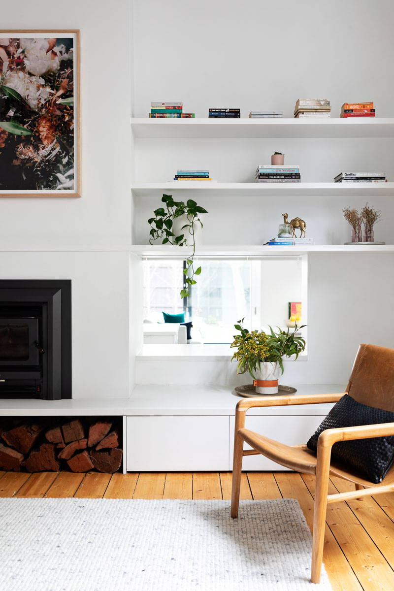 Modern Minimalist  Home in Melbourne | Dwelling Collective | Barnaby Lane Leather Armchairs