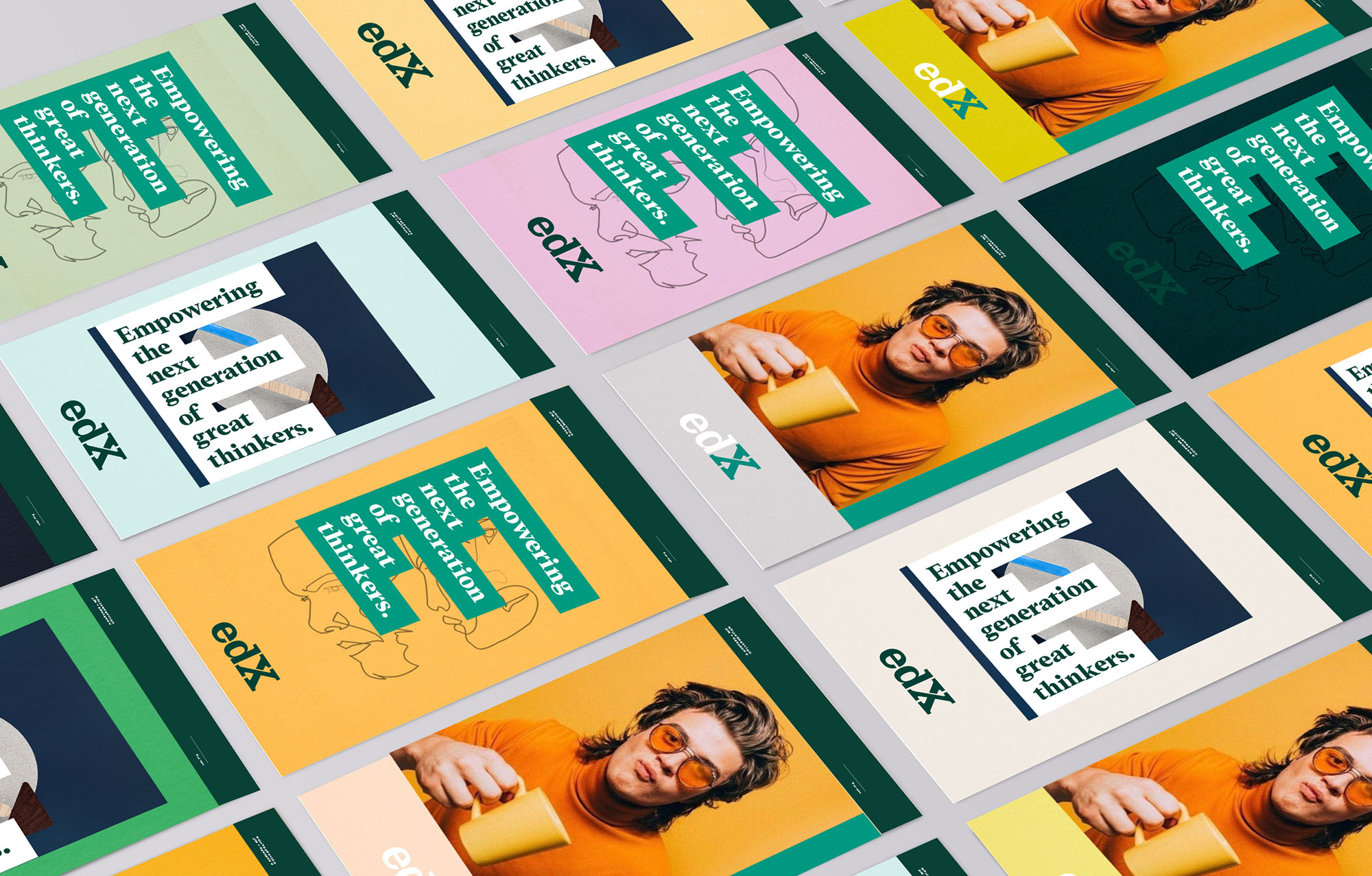 New identity and brand collateral