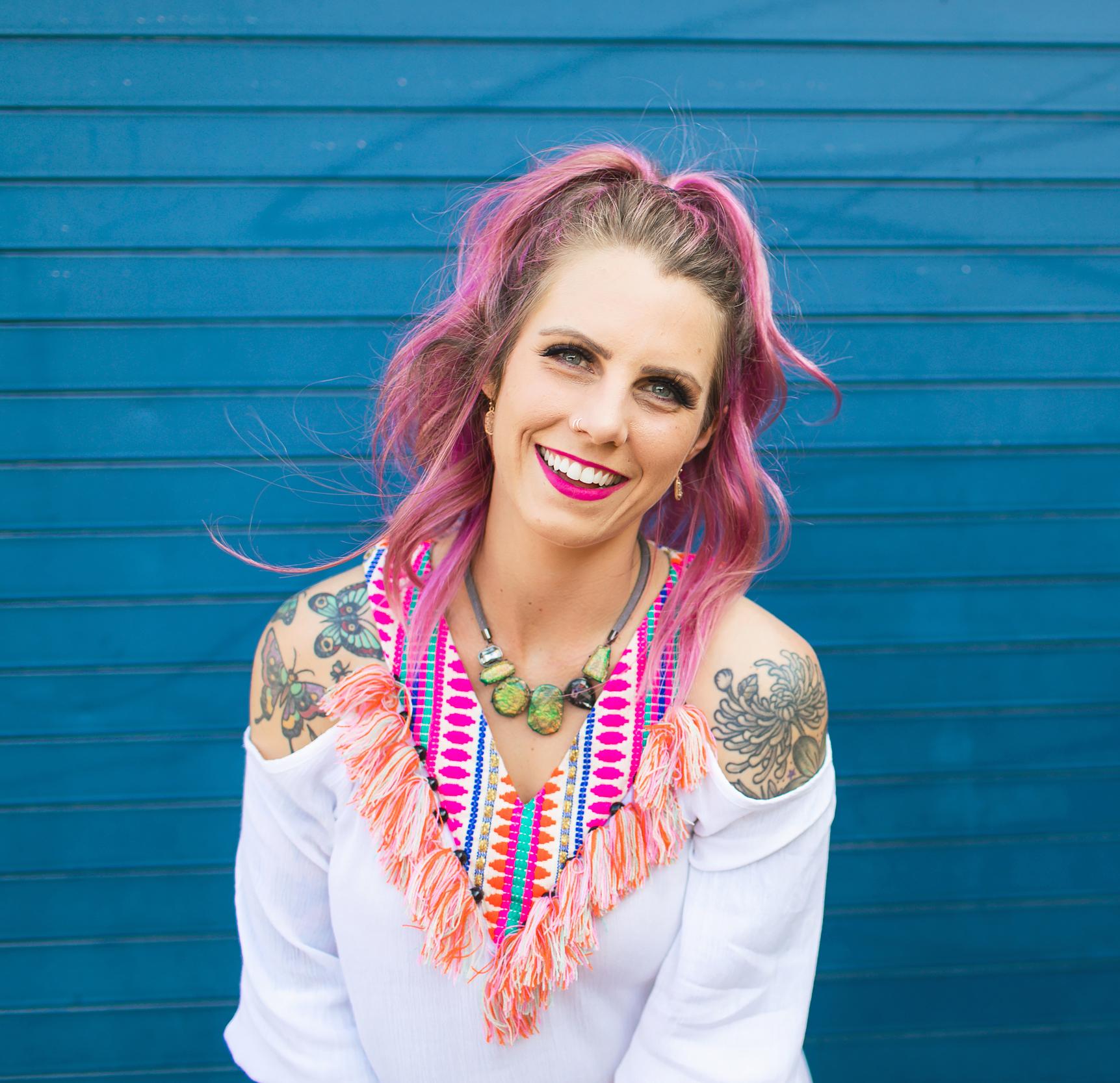 Psychic Medium, Tarot Reader, and Inspirational Leader Brittney Carmichael on Living Open