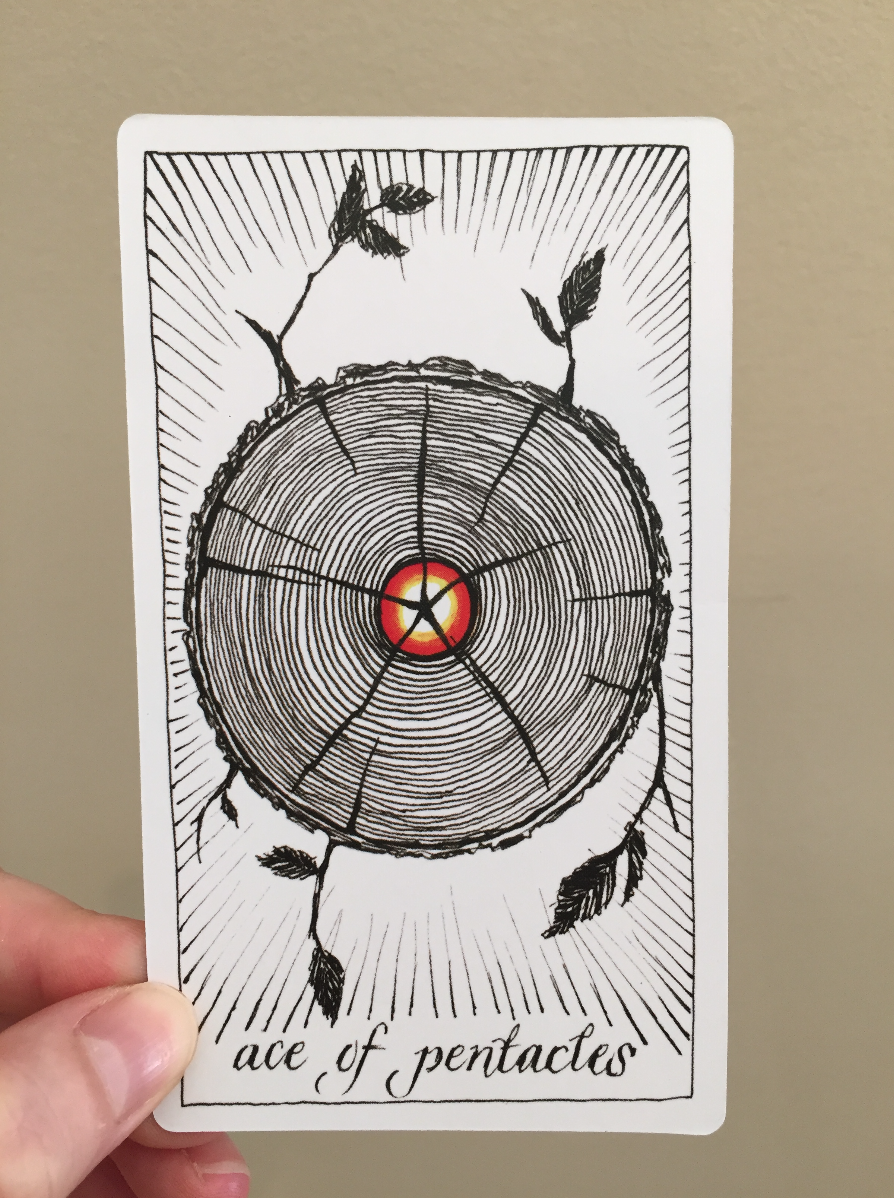 The Ace of Pentacles / The Wild Unknown