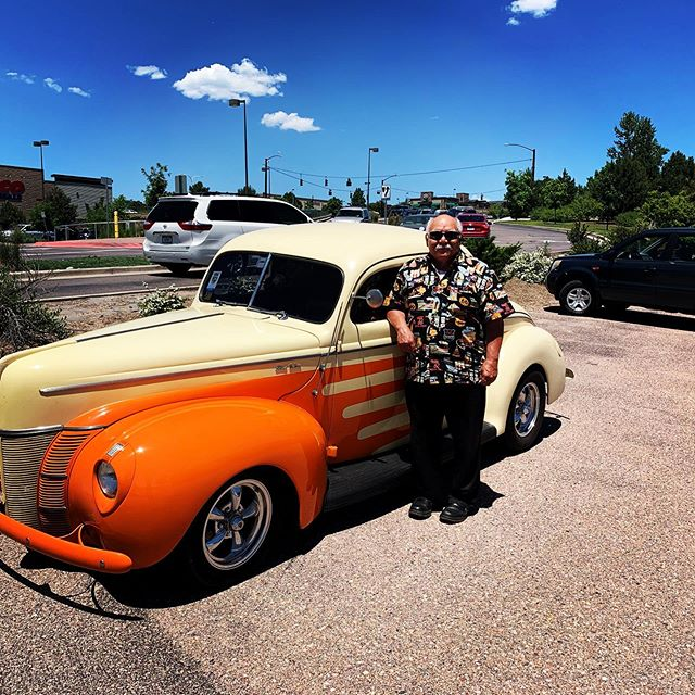 Really enjoyed the opportunity to work on this awesome 1940 Ford Deluxe Coupe! Thanks Mariano, for bringing it by!