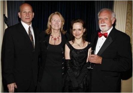 The Edgar® Awards Banquet, 2008. Megan won the Edgar® Award for Best Paperback Original for    Queenpin   .  (not shown) Megan was also nominated for an Edgar® Award in 2006 for Best First Novel for    Die A Little   .  (Matt Peyton Photography)