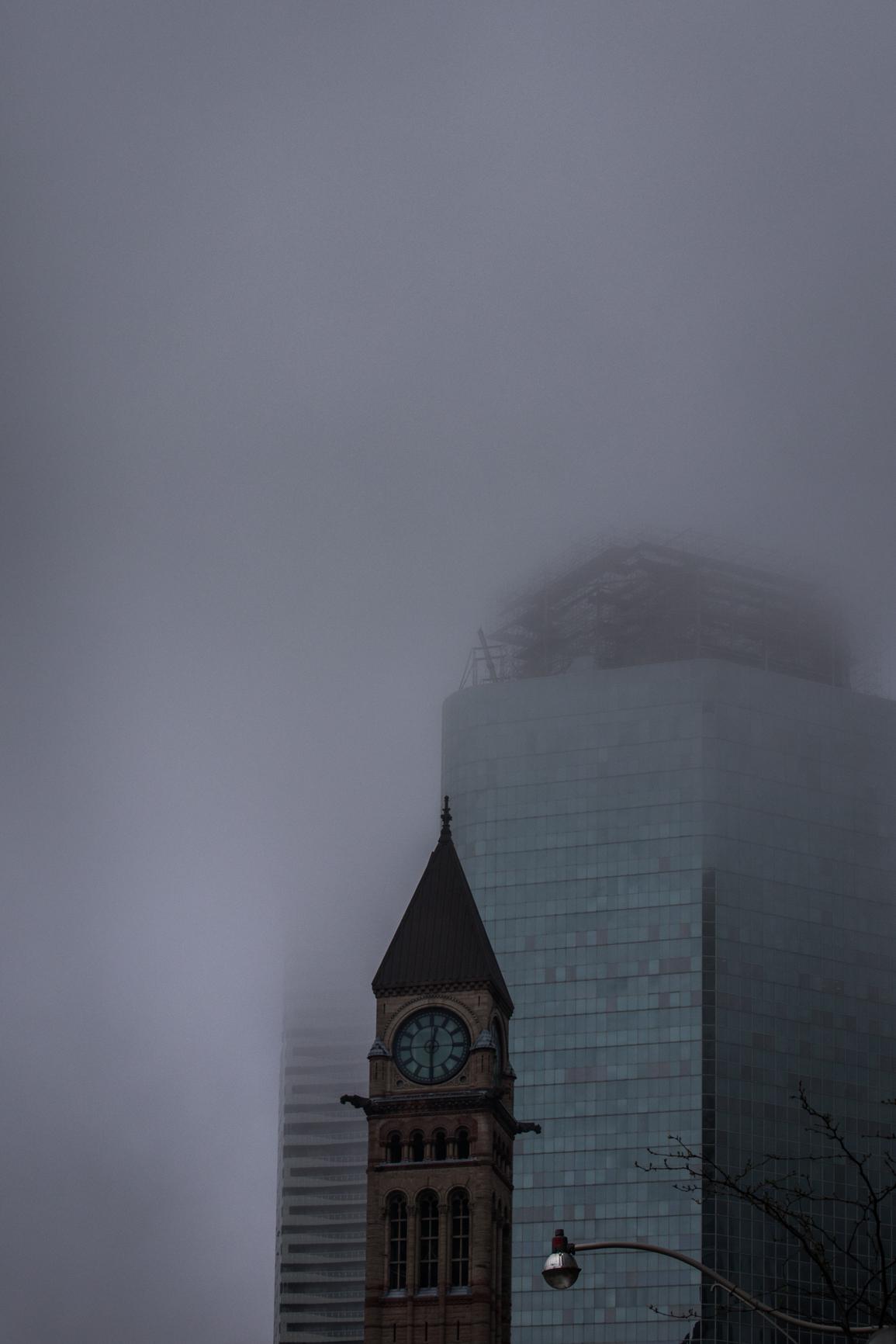 Clock Tower, Old City Hall Toronto, ON 2018