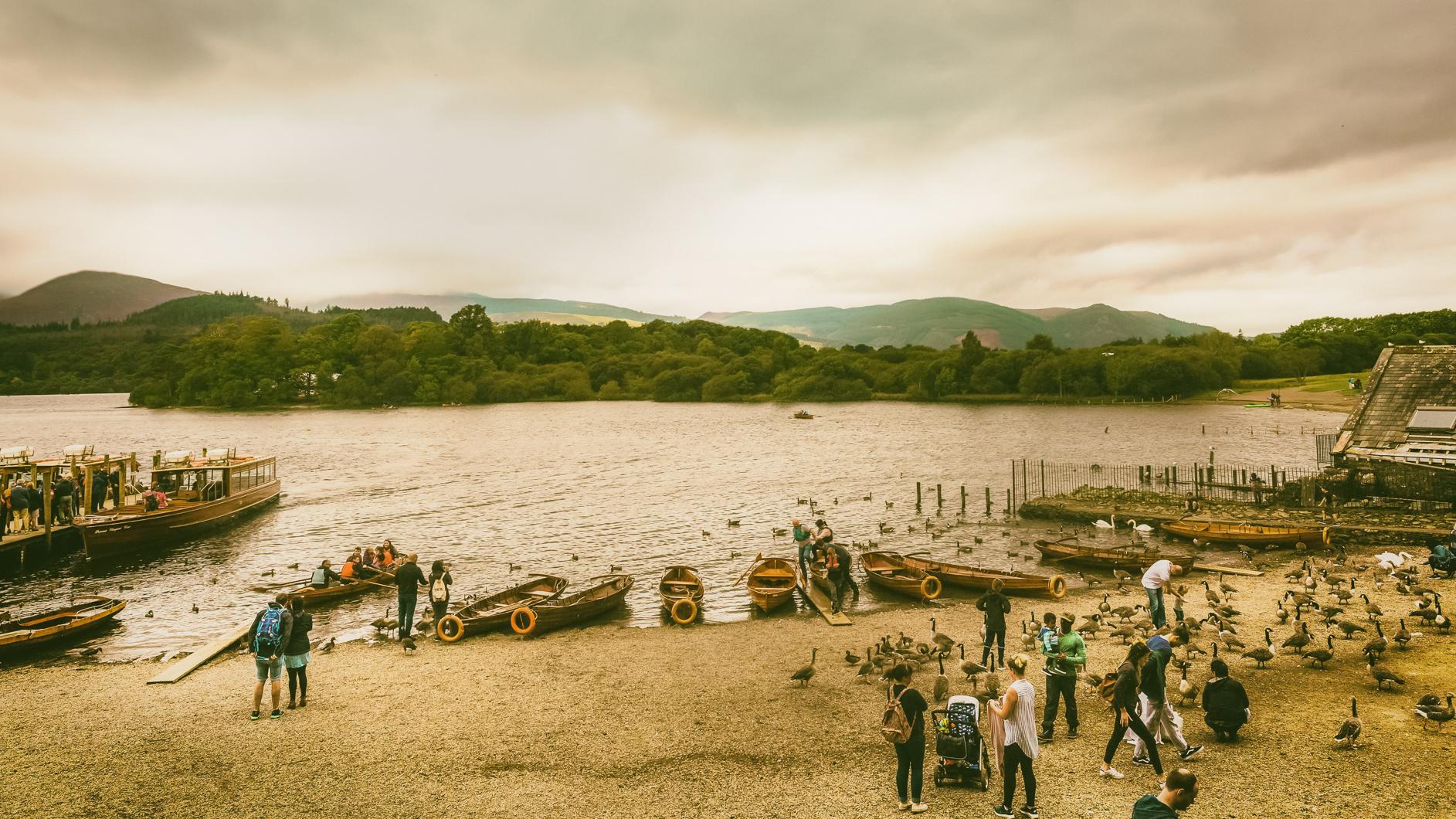 At the Lake, Carlisle, Cumbria, UK