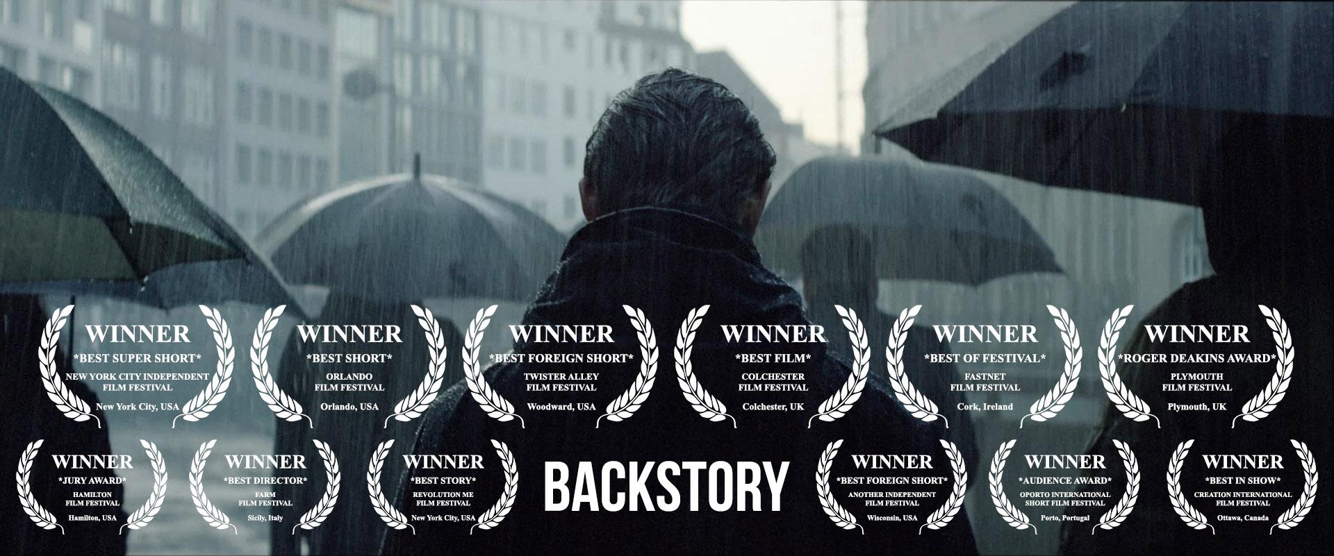 Best Director Short - Joschka Laukeninks BACKSTORY (dir. J. Laukeninks)