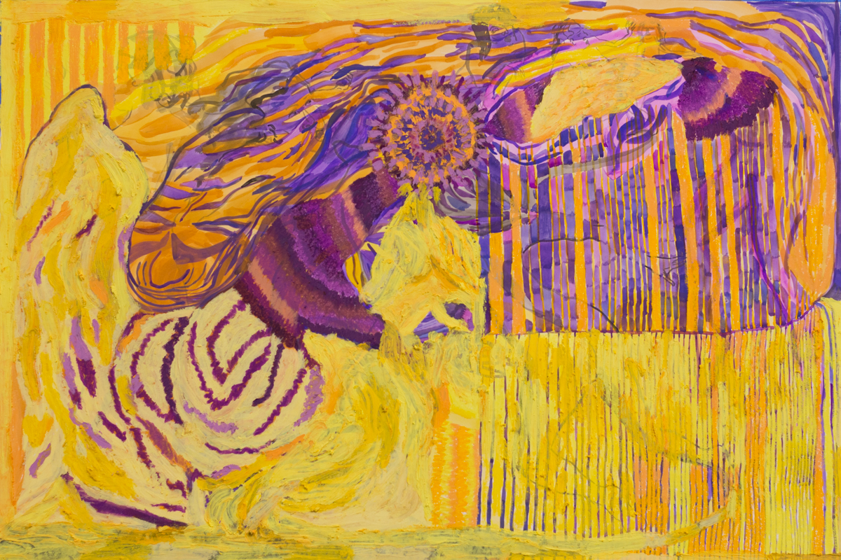 Study in Yellow and Violet (401)