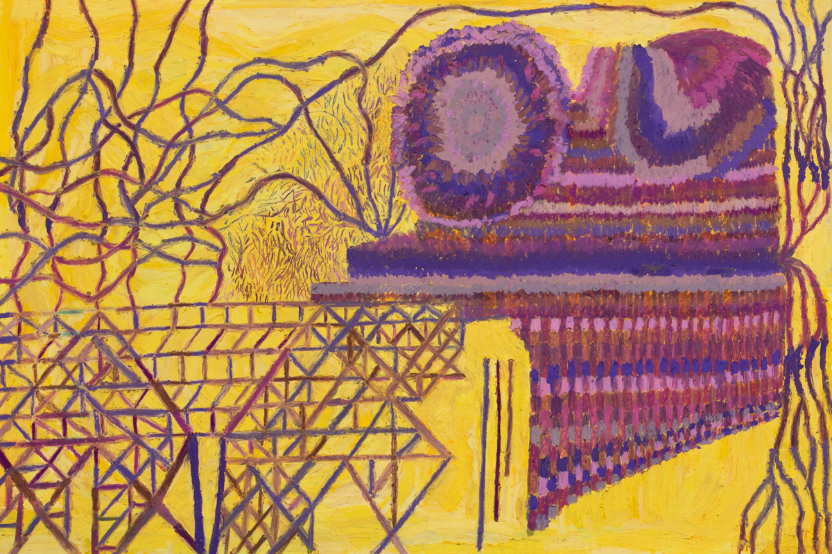 Study in Yellow and Violet (830)