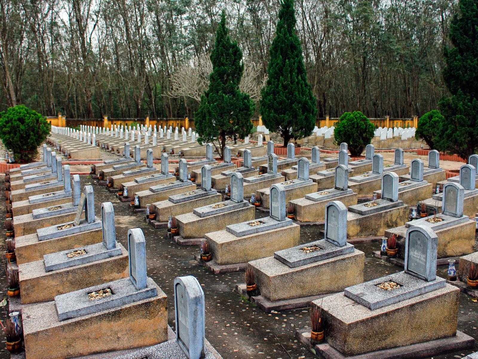 Truong Son Martyrs Cemetery.