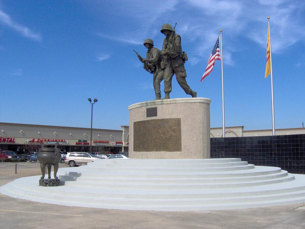 ARVN memorial located in Texas.