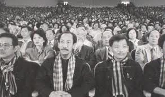 Hoang Co Minh at an event in Garden Grove, California, June 1983.