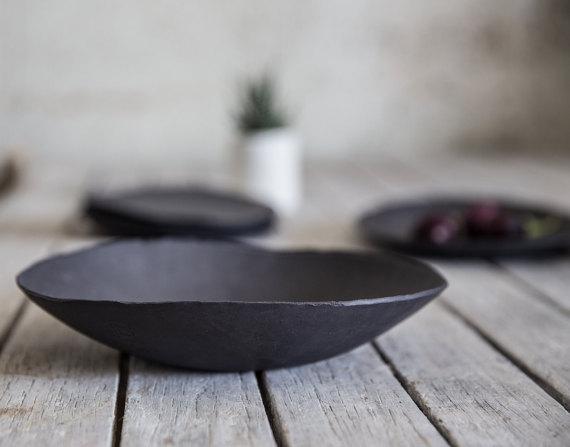 Black Ceramic Bowl from 1220 Ceramics Studio 3.jpg