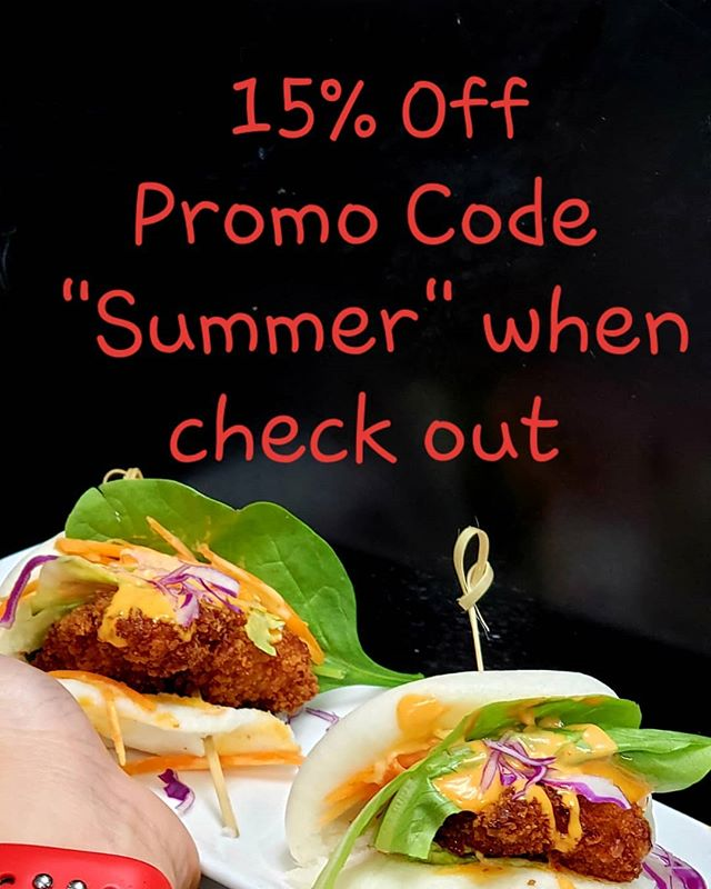 """Summer Promo! 15% off online ordering. Enter """"Summer"""" when checking out on our website."""