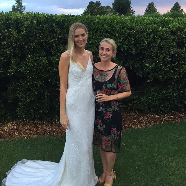 Still thinking about how great it was to watch my friend @brigitambrose get MARRIED last week 💫💫💫💫🥂