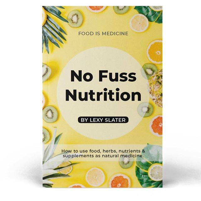 I finally put my ebook No Fuss Nutrition up on my website today ✨✨✨✨ There's over 80 foods, herbs, vitamins & minerals and nutritional supplements covered in here (took a looooong time). The final section covers HOW to actually apply nutrition, nutrients and supplements to different health conditions/body systems eg. PMS, endometriosis, high cholesterol, men's and women's health and all sorts of digestive symptoms 👌🏻👌🏻👌🏻 To celebrate the book finally being available head to the link in my bio and use the discount code NOFUSS for 50% off 🎉🎉🎉🎉
