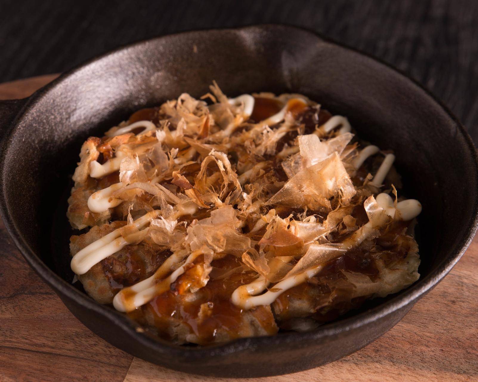 IRONPAN Japanese Kitchen's Okonomiyaki- vegetarian