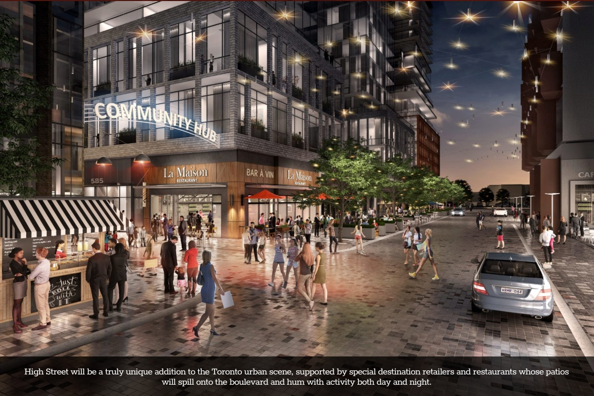 Copy of Renderings of the Revitalization of Bloor and Dufferin