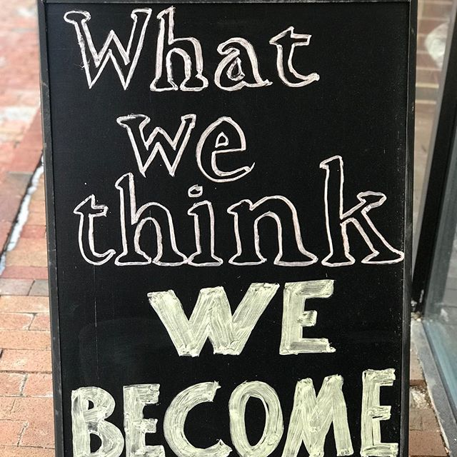 What we think we become. So think positive, self assuring amazing thoughts today. Ready set #fitness #motivation #love