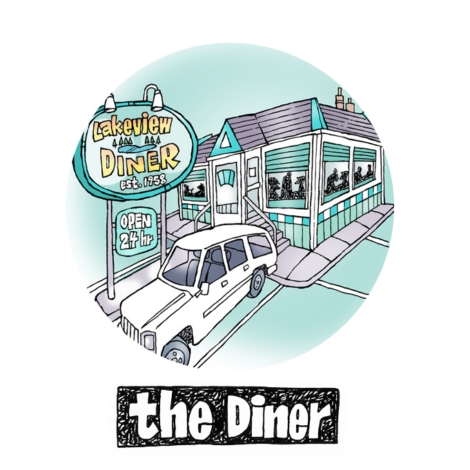 The Lakeview Diner