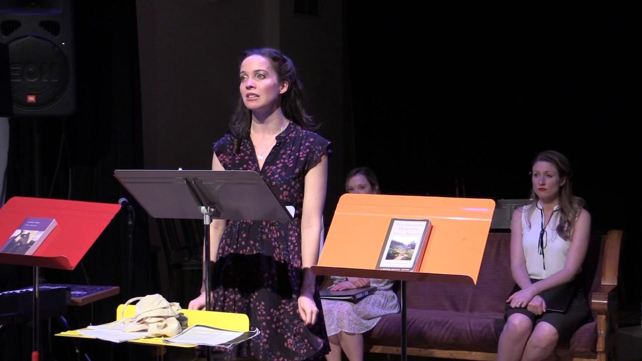 "Patricia Noonan in ""The Brontes""  (New York Theatre Barn, 2017)"